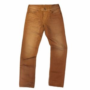 True Religion Mens Bronze Slim Jeans